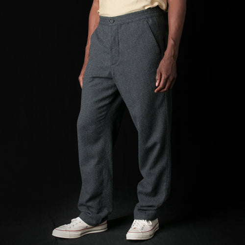 Drawstring Trouser in Caldwell Grey