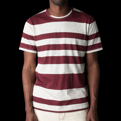 Oliver Spencer - Conduit Tee in Penryn Red