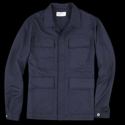 Universal Works - MW Fatigue Overshirt in Navy