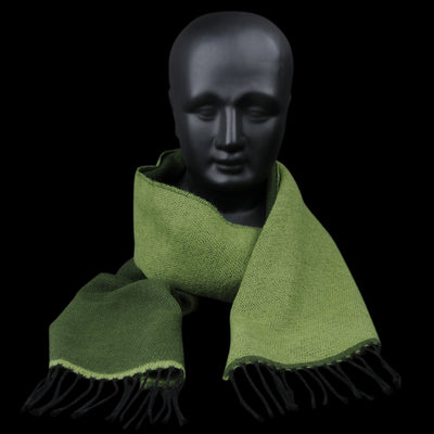 Universal Works - Scarf in Green & Olive