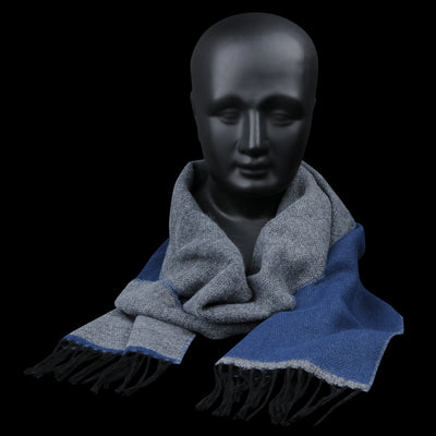 Universal Works - Scarf in Navy & Grey
