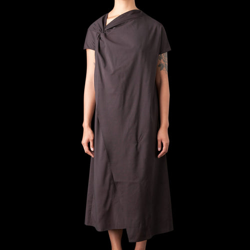 Tybalt Italian Wool Twist Tunic in Conker