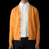 Studio Nicholson - Santo M Wool Cashmere High Neck Cardigan in Mustard