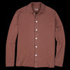 Lady White Co. - Long Sleeve Placket Polo in Hickory