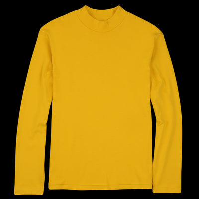 Lady White Co. - Long Sleeve Mock Neck Tee in NY Yellow