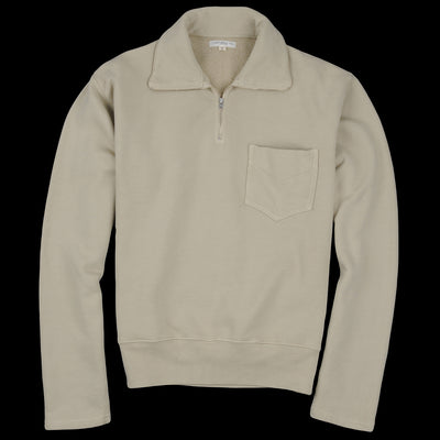 Lady White Co. - 1/4 Zip Pocket in Beige