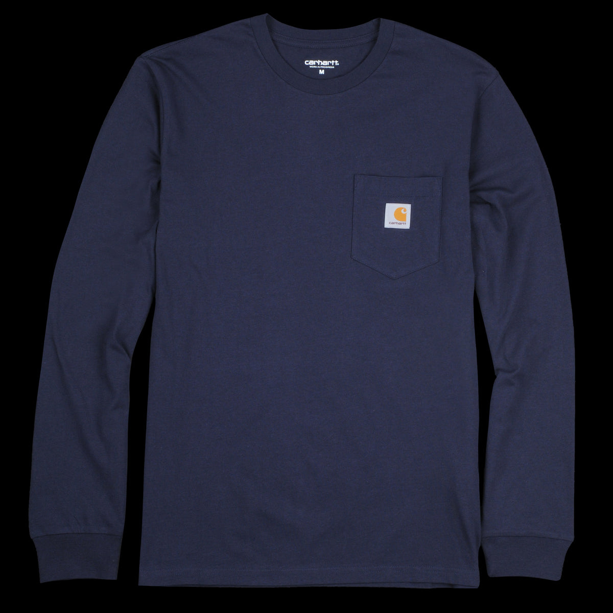 4b9ec48e4b11 Carhartt Wip - Long Sleeve Pocket Tee in Dark Navy - UNIONMADE
