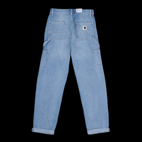 Pierce Pant in Blue Light Stone Washed