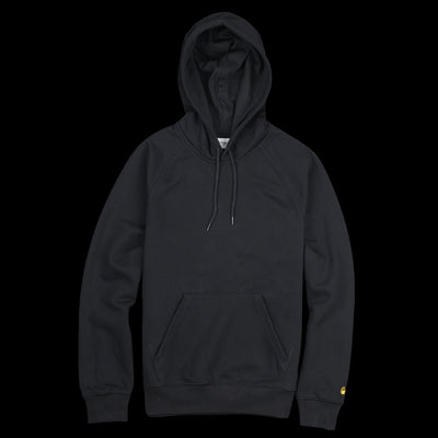 Carhartt Wip - Hooded Chase Sweatshirt in Black