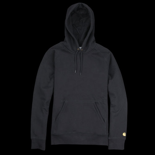 Hooded Chase Sweatshirt in Black