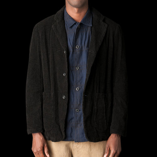 Corduroy Jacket in Black