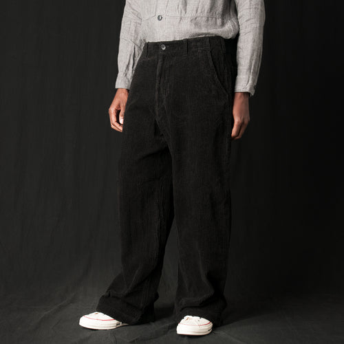Corduroy Pant in Black