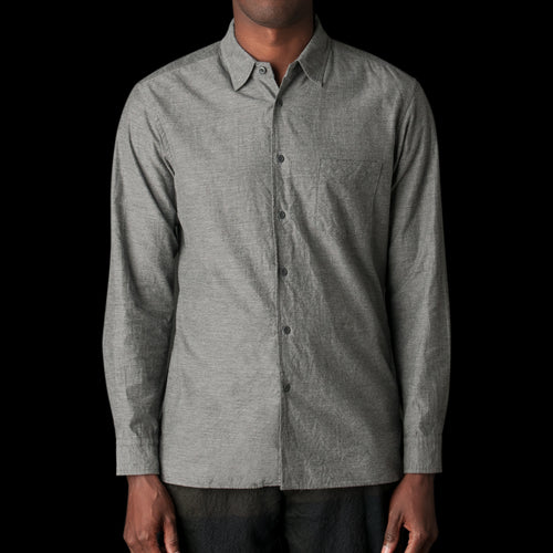 Cotton Shirt in Grey
