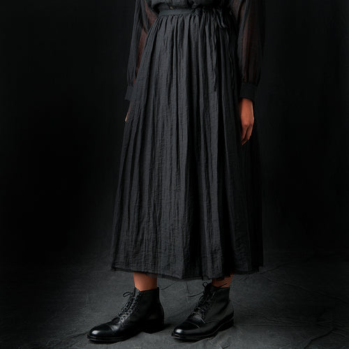 Ramie Skirt in Black