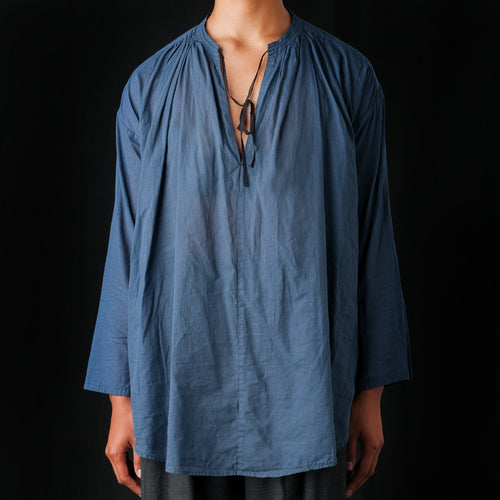 Japanese Khadi Tunic in Blue