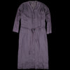 Pas De Calais - Gathered Dress in Wine