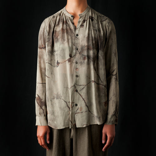 Terroir Branch Blouse in Beige