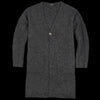 Pas De Calais - Yak Cardigan in Charcoal