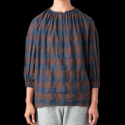 Nico By Nicholson & Nicholson - Comet Shirt in Brown Check