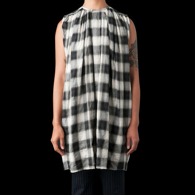Nico By Nicholson & Nicholson - Marfa Dress in Black Check