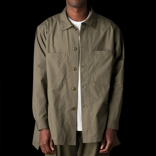 Batman Shirt in Vancloth Oxford Olive