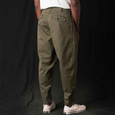 Monitaly - Riding Pant in Vancloth Sateen Olive