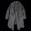 Monitaly - Voguar Coat Type-8 in Wool Flannel Charcoal