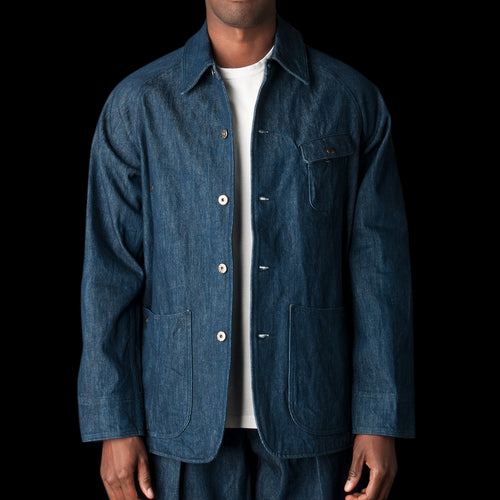 Gardening Jacket in Last Made-in-USA Cone Denim 14.25oz