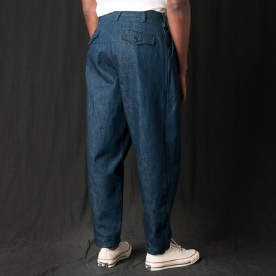 Monitaly - Riding Pant in Last Made-in-USA Cone Denim 14.25oz