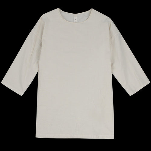 Muro Oversized Woven Tee in Natural