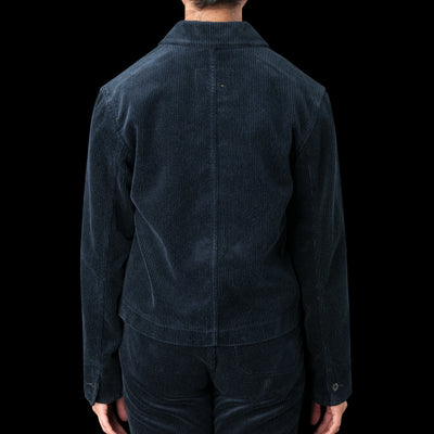 MHL / Margaret Howell - Heavy Corduroy Work Shirt Blazer in Midnight