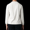 MHL / Margaret Howell - Matte Jersey Wide Crew Neck in Pale Grey