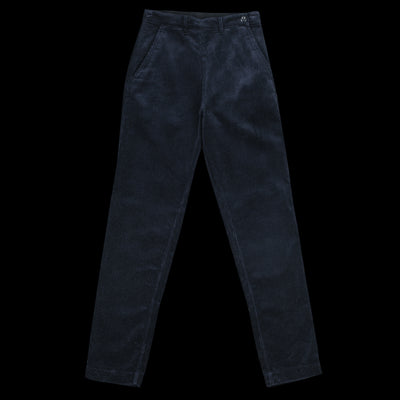 MHL / Margaret Howell - Heavy Corduroy Side Zip Trouser in Midnight