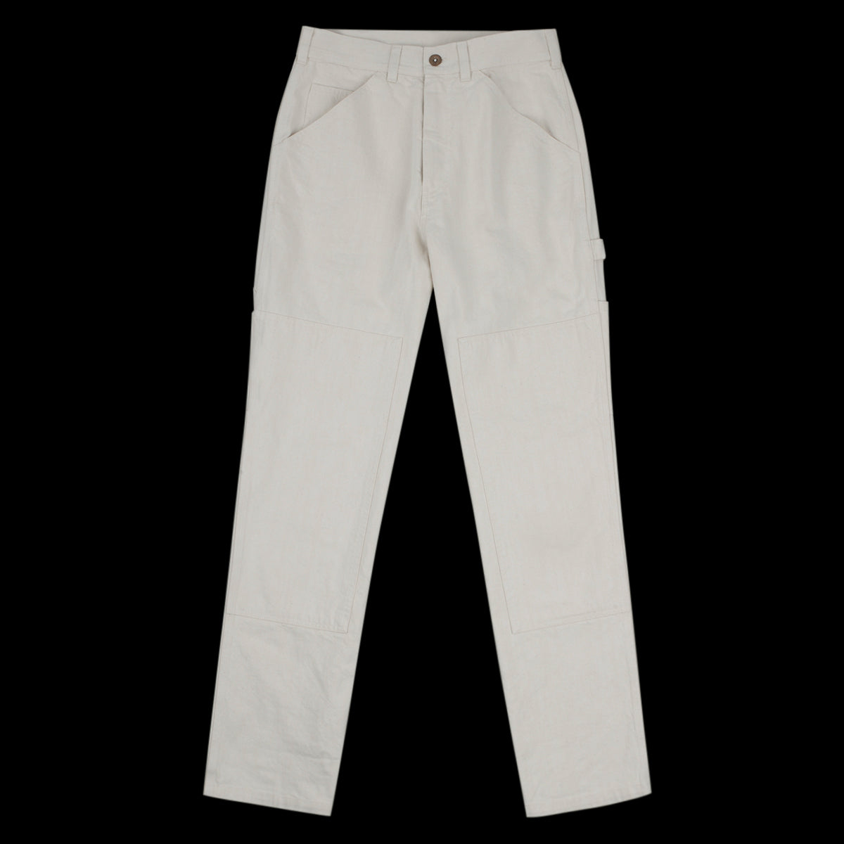 21582139b4d MHL / Margaret Howell - Denim Painters Trouser in Natural - UNIONMADE