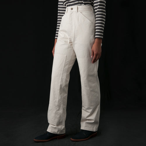 Denim Painters Trouser in Natural