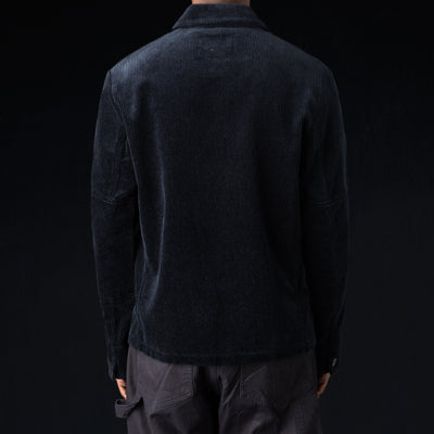 MHL / Margaret Howell - Heavy Corduroy 3 Button Jacket in Midnight