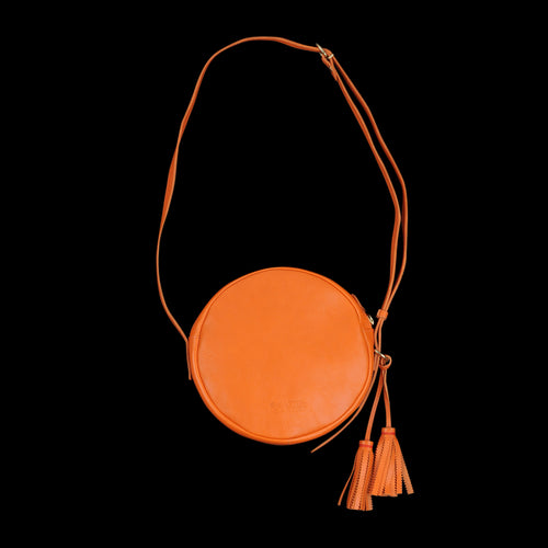 Disco Crossbody Bag in Orange