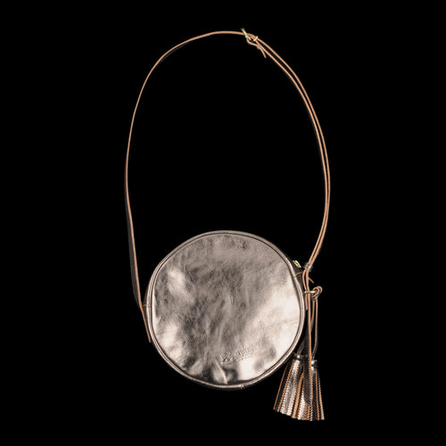 Disco Crossbody Bag in Bronze