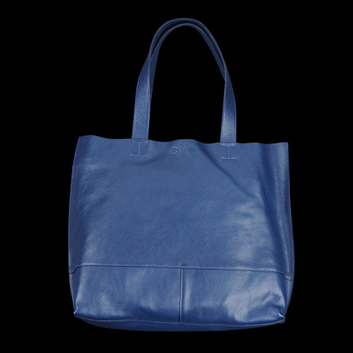 Talamone Tote with Interior Clutch in Blu