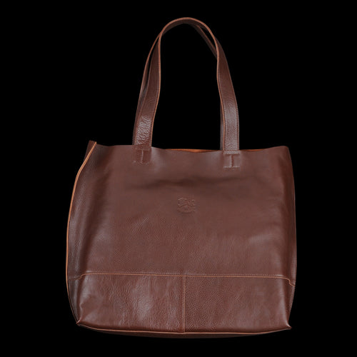 c47264535c44 Il Bisonte - Talamone Tote with Interior Clutch in Marrone