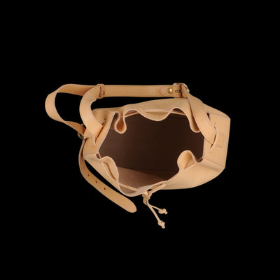 Il Bisonte - Large Canyon Bucket Bag in Naturale