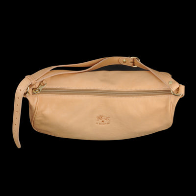 Il Bisonte - Classic Heritage Crossbody Bag in Naturale