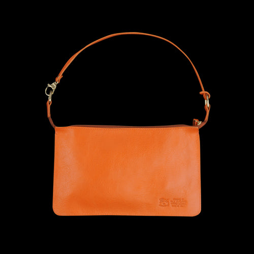 Flat Pouchette in Orange