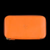 Il Bisonte - Liberty Zip Around Wallet in Orange & Stra