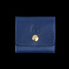 Il Bisonte - Liberty Coin Purse in Blu with Ade Lining