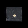 Il Bisonte - Liberty Coin Purse in Nero with Stra Lining