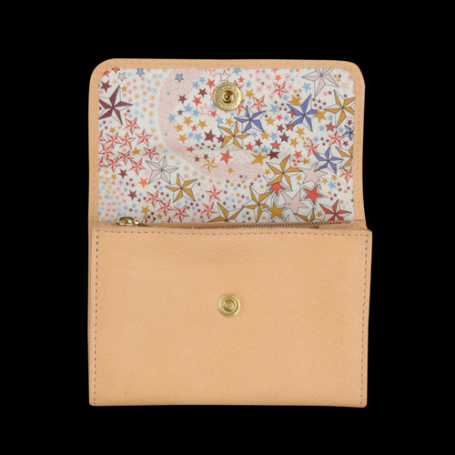 Liberty Snap Wallet in Naturale with Ade Lining