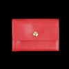 Il Bisonte - Liberty Snap Wallet in Rossa with Stra Lining