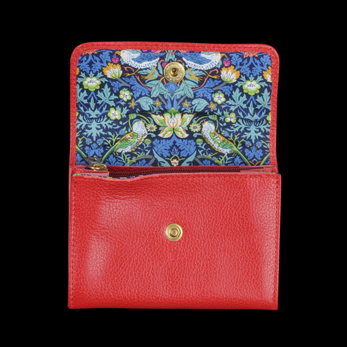 Liberty Snap Wallet in Rossa with Stra Lining