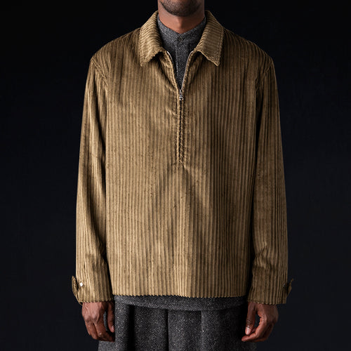 Corduroy Pullover in Loden